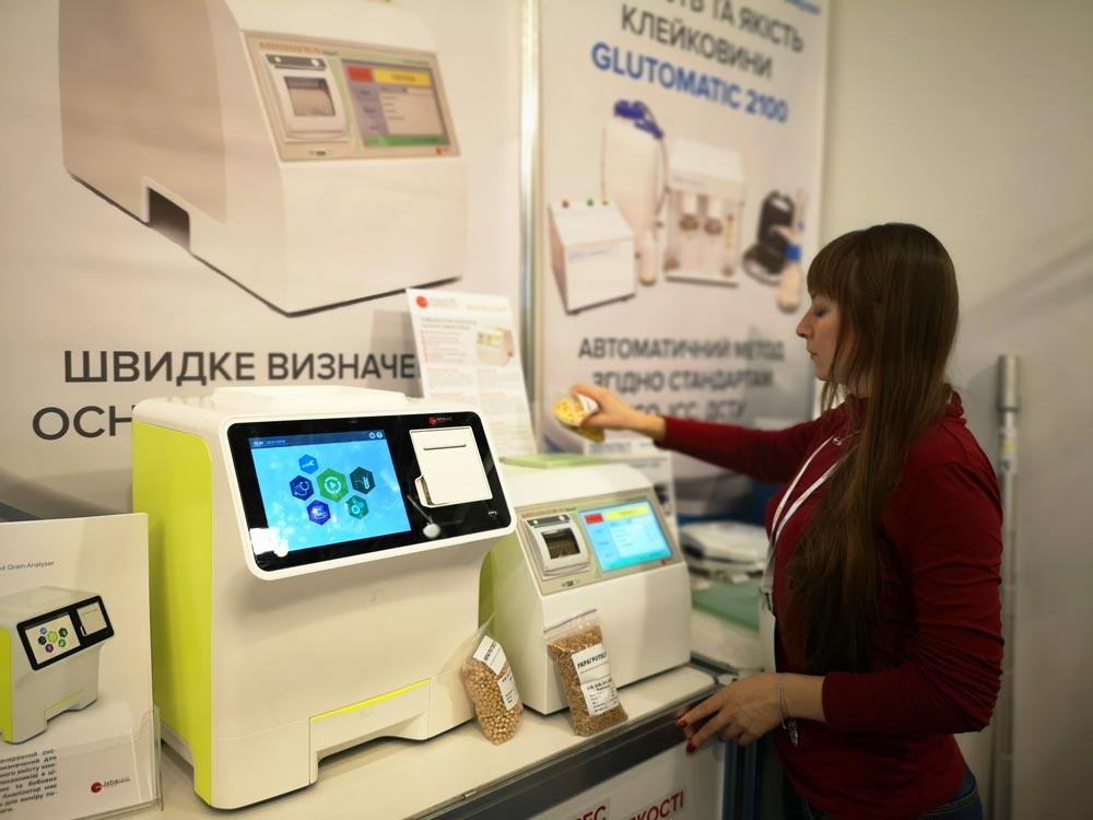 Инфракрасные анализаторы зерна MinInfra SmarT, Sgrain, Xgrain. Официальный дистрибьютор и сервисный центр в Украине ТЕХНОТЕСТ.