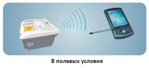 Анализатор масел и жидкостей SupNIR-2600 может быть подключен по Bluetooth для удаленного доступа.